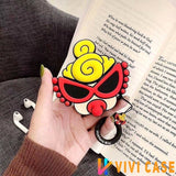 Cute Japan Hysteric Doll Silicone Protective Shockproof Case For Apple Airpods 1 & 2 - AirPods