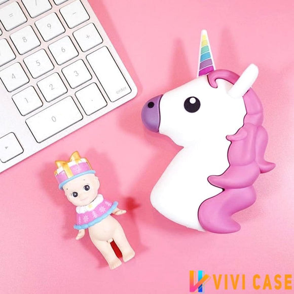 Dreamy Unicorn Power Bank Cute Cartoon External Battery For iPhone 8 / Plus / X / XS / Max