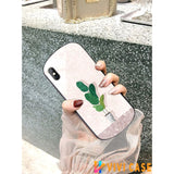 Floral Round Corner Tempered Glass Shockproof Protective Designer iPhone Case For SE 11 Pro Max X XS XR 7 8 Plus