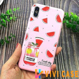 iPhone Case 13 / For iPhone X Glossy Modern Candy Color iPhone Case MORE SELECTIONS!