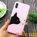 iPhone Case 6 / For iPhone X Glossy Modern Candy Color iPhone Case MORE SELECTIONS!