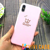 iPhone Case 9 / For iPhone X Glossy Modern Candy Color iPhone Case MORE SELECTIONS!