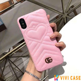 Iphone 11 10015-Pink / iPhone 6/6s Gucci iPhone case Red 11 Pro Xs Max Xr 8 Plus Luxury Back cover