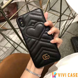 Iphone 11 10016-Black / iPhone 6/6s Gucci iPhone case Red 11 Pro Xs Max Xr 8 Plus Luxury Back cover