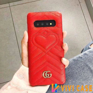 Iphone 11 10017-Red / iPhone 6/6s Gucci iPhone case Red 11 Pro Xs Max Xr 8 Plus Luxury Back cover