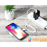 Instagram Mini Portable Marble Wireless Charger Fast Charging Pad For iPhone X / XS / Max