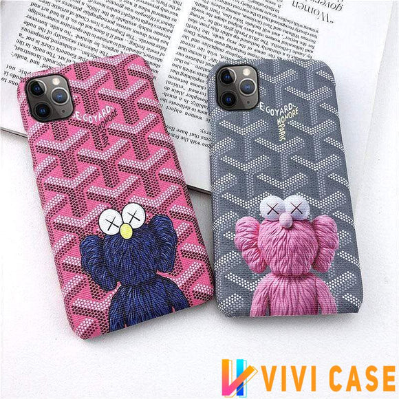 Iphone 11 Best Luxury Style Sesame Street Imitation Leather Designer iPhone Case For Iphone 11 Pro Max X XS XS MAX XR 7 8 Plus