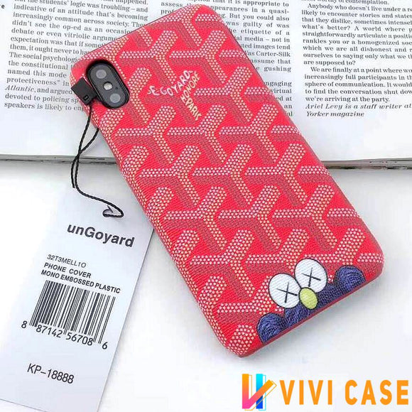 Iphone 11 10046-Red / iPhone 6/6s Goyard iPhone case Red 11 Pro Xs Max Xr 8 Plus Tide Sesame Street