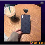 iPhone 11 Louis Vuitton Style Wooden Designer iPhone Case For iPhone 11 Pro Max X XS XS Max XR 7 8 Plus