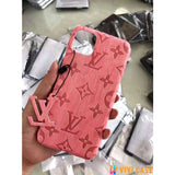 iPhone 11 ShimmerPink / iPhone 7 Louis Vuitton Style Wooden Designer iPhone Case For iPhone 11 Pro Max X XS XS Max XR 7 8 Plus