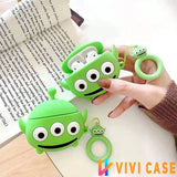 Monster University Style Silicone Designer Protective Case For Apple Airpods Pro - AirPods