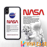 iPhone Case 1 / for iphone 7 NASA Style America Astronaut Space Soft Leather Designer iPhone Case