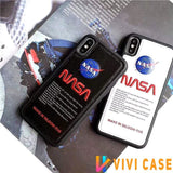 iPhone Case NASA Style America Astronaut Space Soft Leather Designer iPhone Case