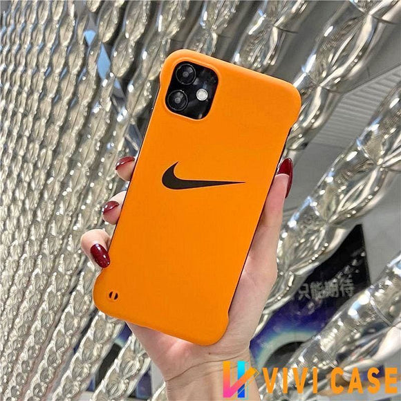 Nike Style Hard shell Protective Designer Iphone Case For 12 Pro Max Mini - 1 / iPhone mini