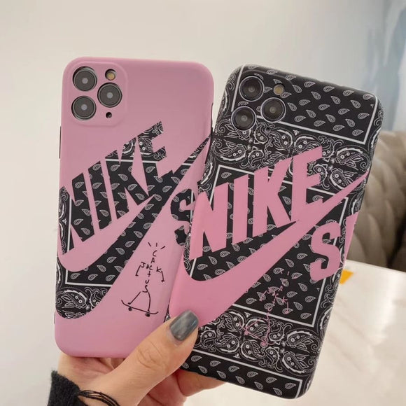 Nike Style SB Series Matte Silicone Shockproof Protective Designer iPhone Case For 12 SE 11 Pro Max X XS XR 7 8 Plus - IPhone
