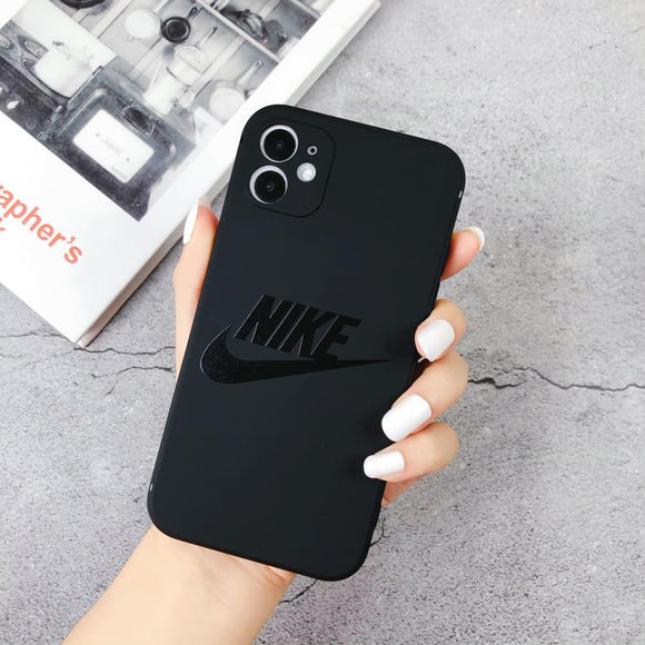 Nike Style Silicone Shockproof Protective Designer iPhone Case For 12 SE 11 Pro Max X XS XR 7 8 Plus - IPhone