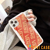 Vans Style Bumper Silicone Protective Designer iPhone Case For SE 11 Pro Max X XS XR 7 8 Plus - iPhoneSE(2ndGen)