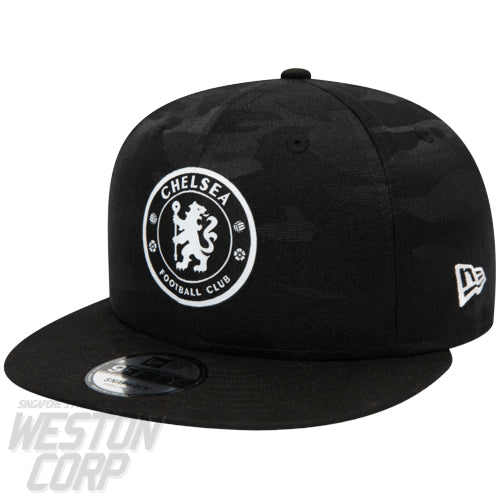 Chelsea FC Black Camo 9FIFTY Cap
