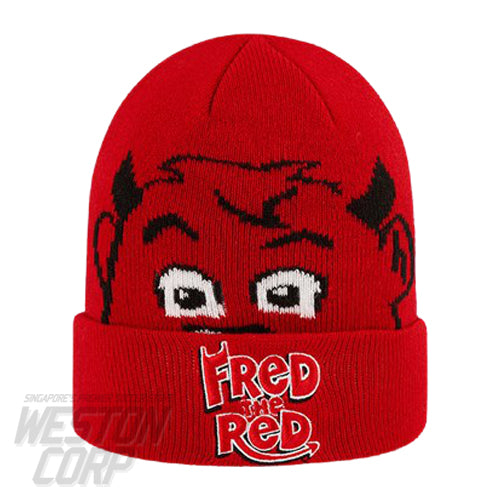 Manchester United Fred the Red Kids Cuff Knit Infants