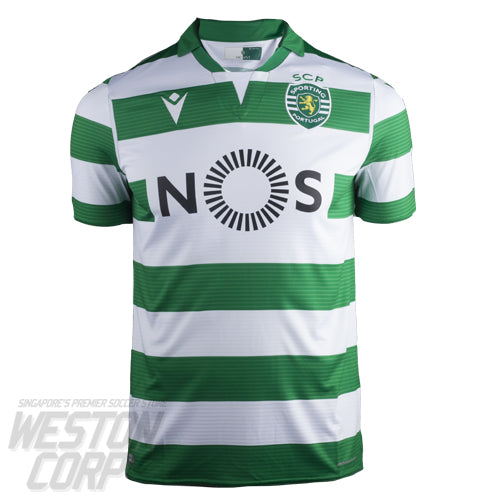 Sporting Lisbon Adult 2019-20 SS Home Shirt