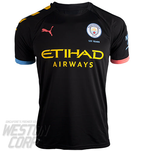Manchester City Adult 2019-20 SS Away Shirt