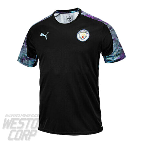 Manchester City 2019-20 Training Jersey Black