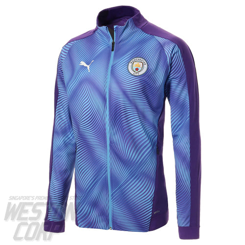 Manchester City 2019-20 Stadium Jacket Blue
