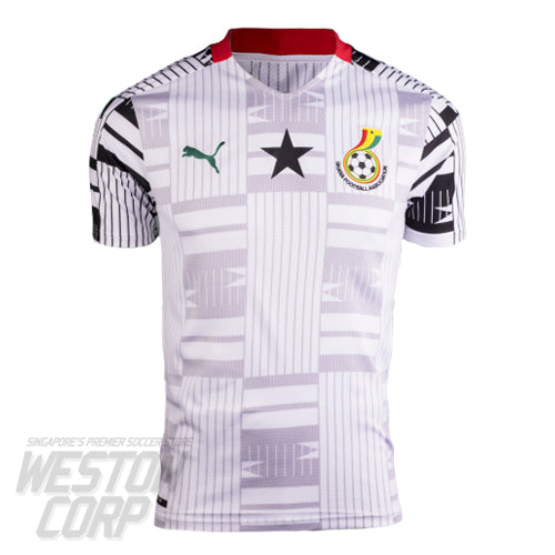 Ghana Adult 2020 SS Home Shirt