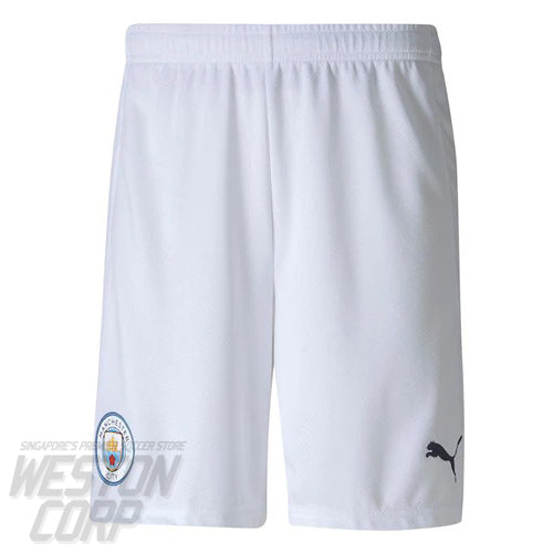 Manchester City Adult 2020-21 Home Shorts