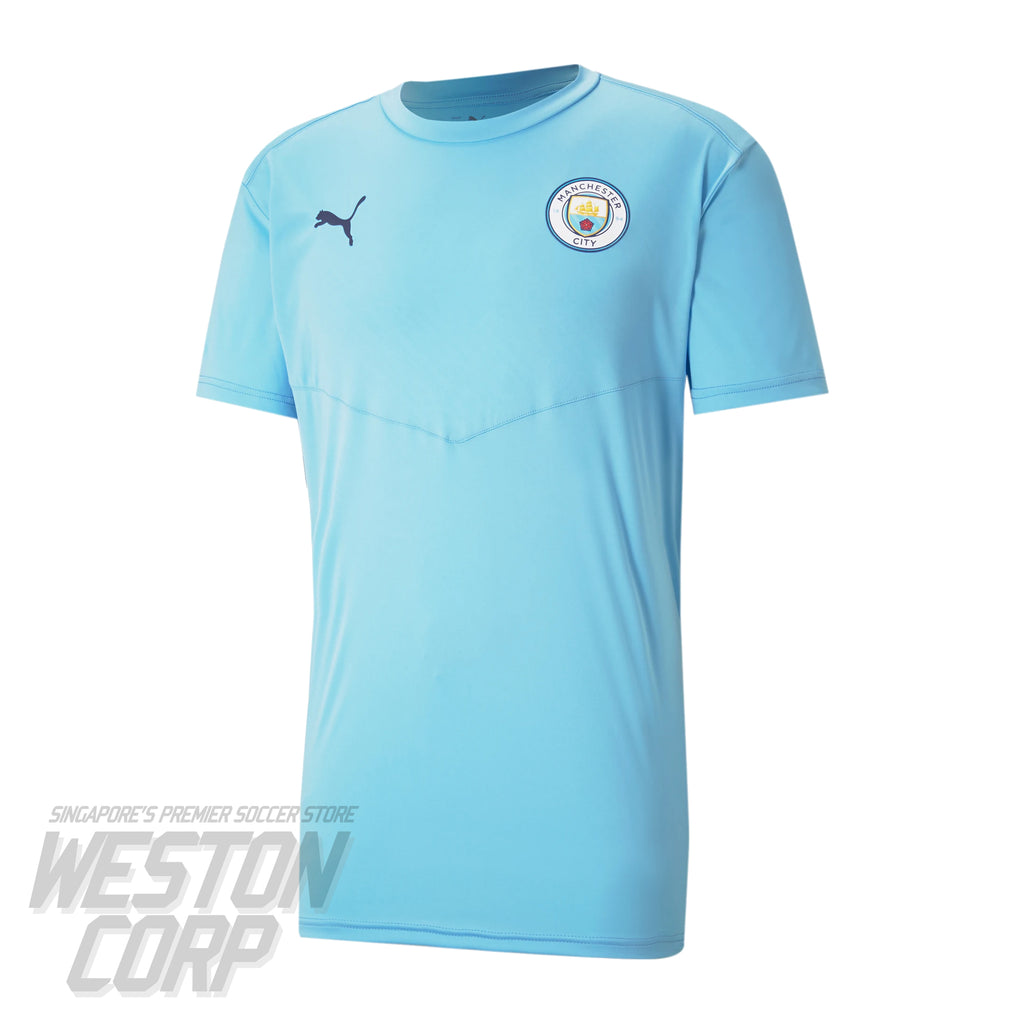 Manchester City Adult 2020-21 SS Warm Up Tee