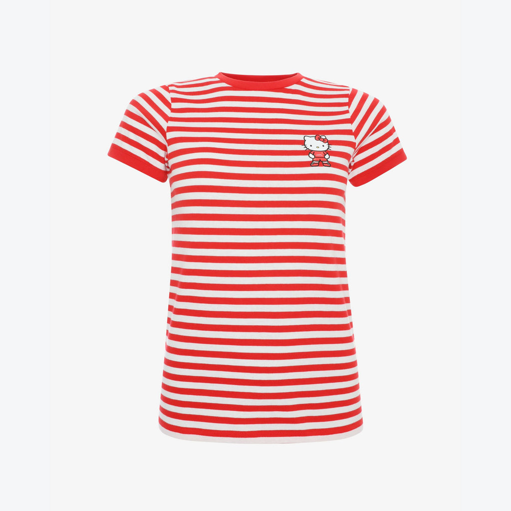 LFC Womens Hello Kitty Stripe Tee