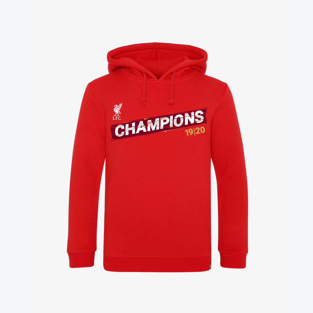 LFC Junior Premier League Champions 19-20 Red Hoody
