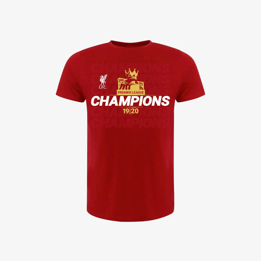 LFC Adult Premier League Champions 19-20 Red Tee