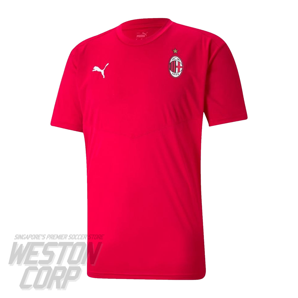 AC Milan Adult 2020-21 SS Warm Up Tee
