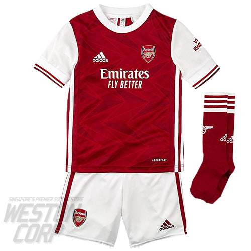 Arsenal 2020-21 SS Mini Home Kit