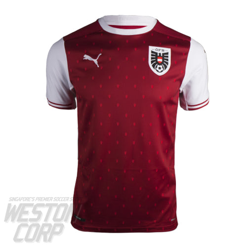 Austria Adult 2020 SS Home Shirt