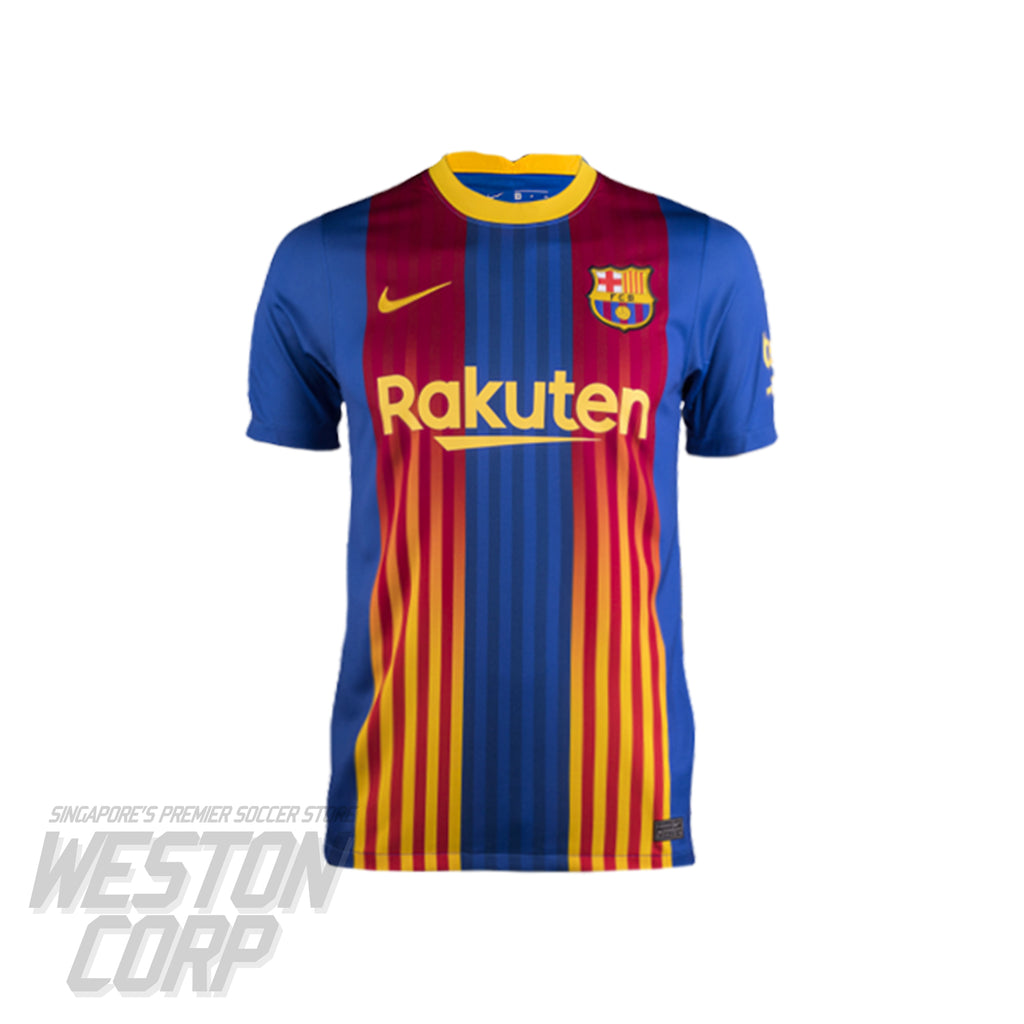 Barcelona Youth 2020-21 SS 'El Clasico' Stadium Jersey