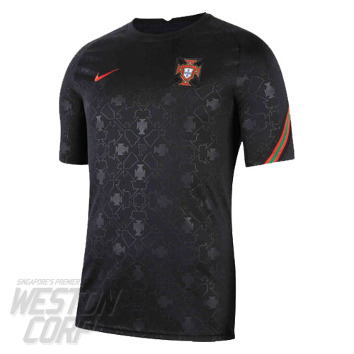 Portugal Adult 2020 SS PRE MATCH TOP
