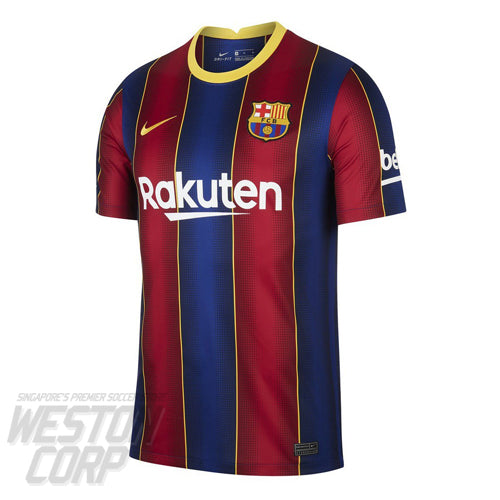Barcelona Adult 2020-21 SS Home Stadium Jersey