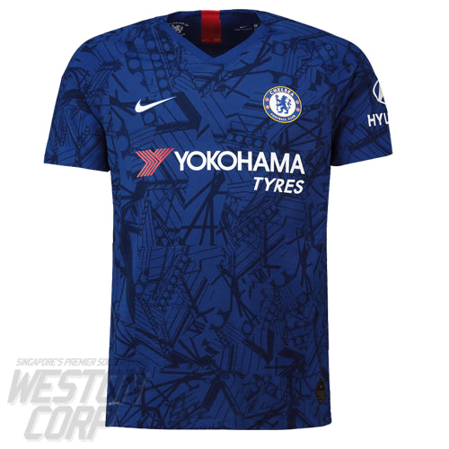 Chelsea FC Adult 2019-20 SS Home Authentic Shirt