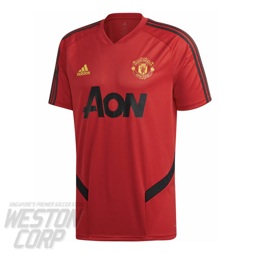 Manchester United Adult 2019-20 SS Training Jersey