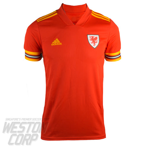 Wales Adult Euro 2020 SS Home Shirt