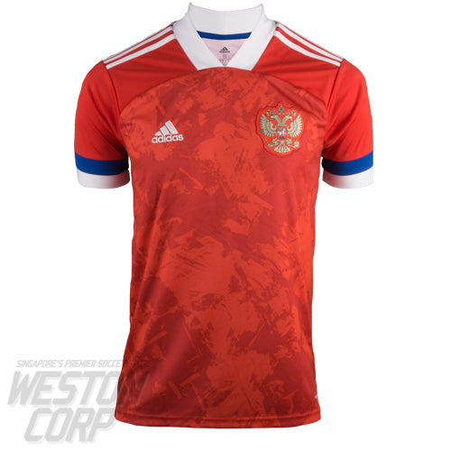 Russia Adult Euro 2020 SS Home Shirt