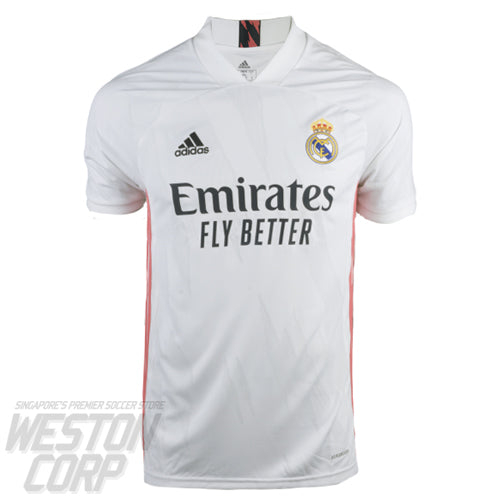 Real Madrid Youth 2020-21 SS Home Shirt