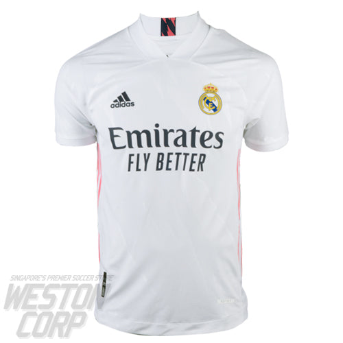 Real Madrid Adult 2020-21 SS Home Authentic Shirt