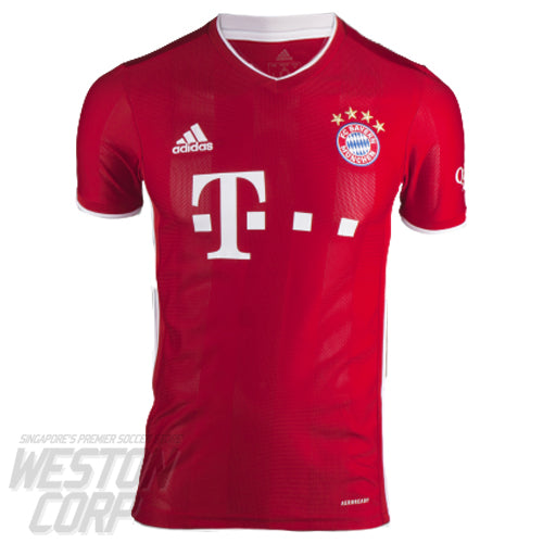 Bayern Munich Youth 2020-21 SS Home Shirt