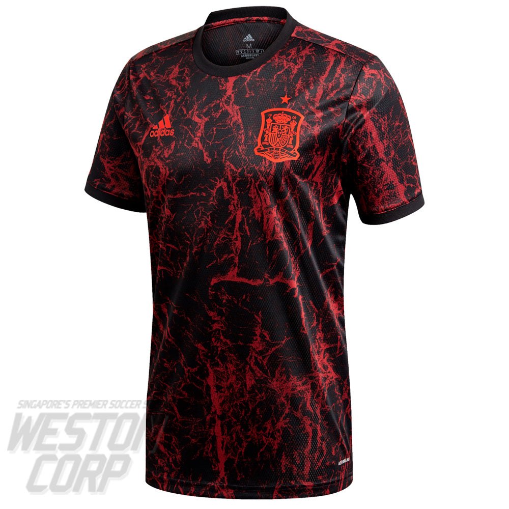 Spain Adult 2021 SS Pre-Match Shirt