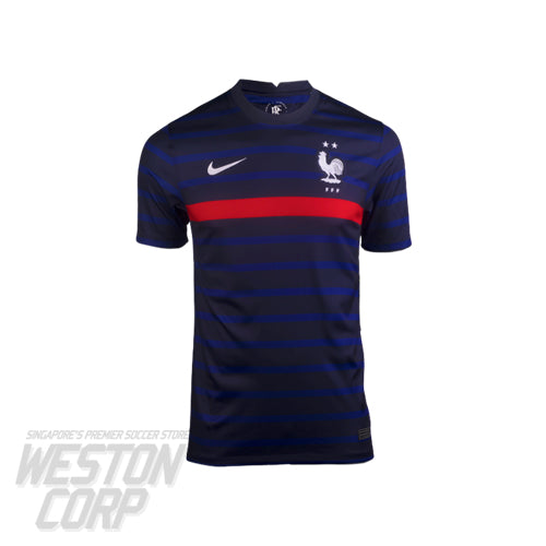 FRANCE YOUTH 2020-21 SS HOME STADIUM JERSEY