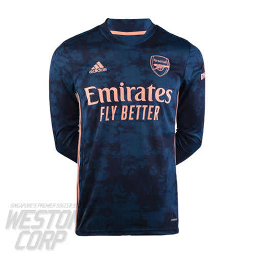 Arsenal Adult 2020-21 LS Third Shirt