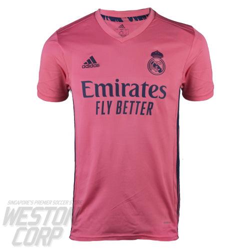 Real Madrid Youth 2020-21 SS Away Shirt